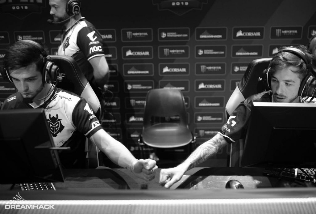 The Perpendicular Paths of KennyS and shox