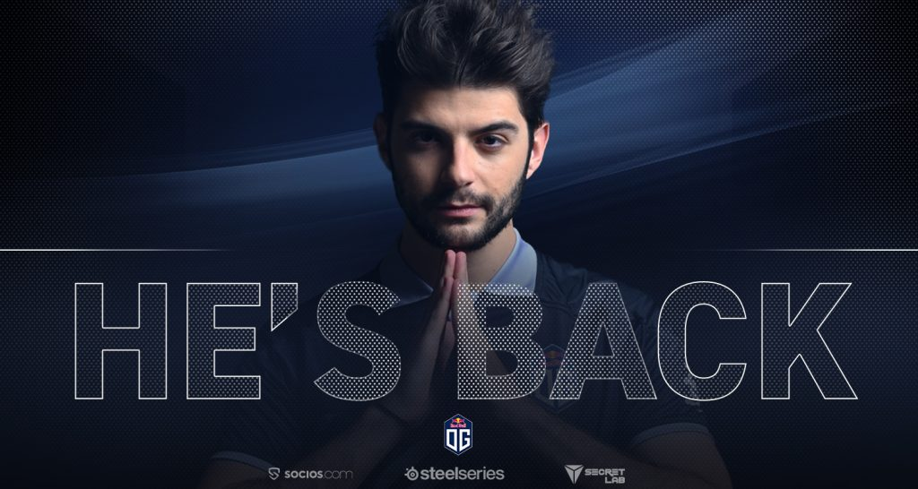 SumaiL may be gone, but there'll be too many OG fans celebrating the return of Ceb to notice (Image via OG)