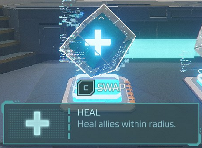 Hyper Scape Heal