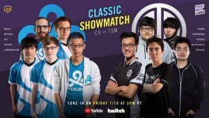Cloud9 vs TSM Classic Showmatch Rosters Announced