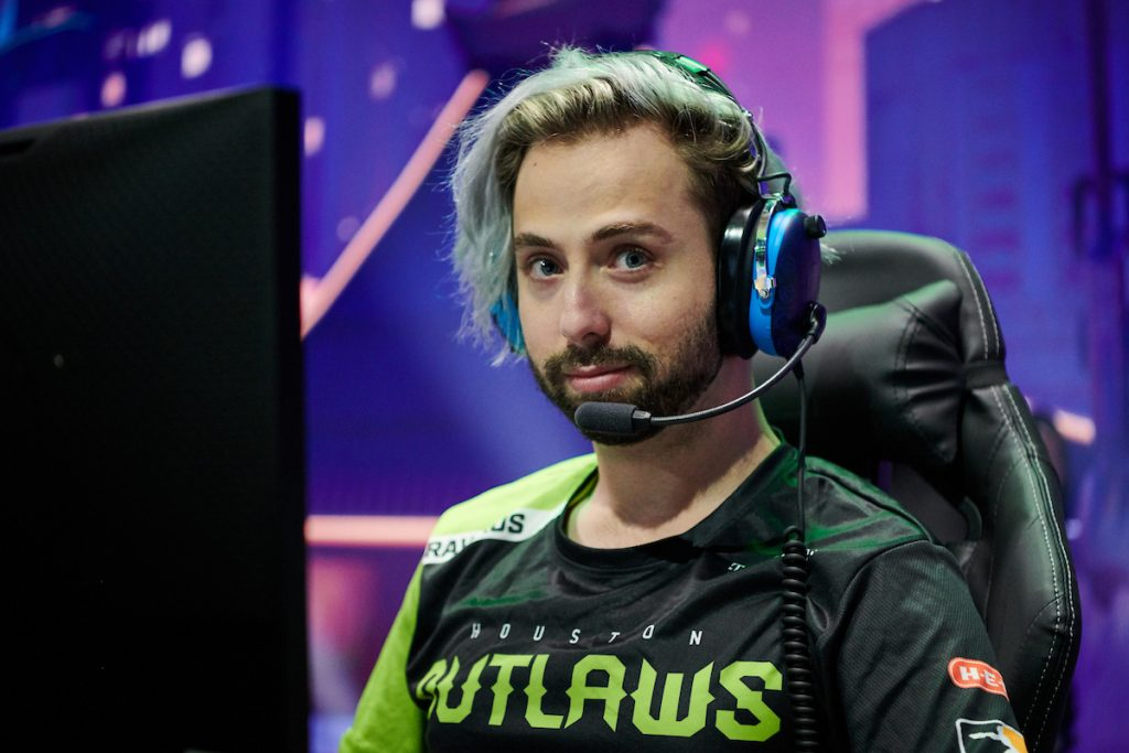 Rawkus has been playing Overwatch professionally since 2016 and playing with the Outlaws since 2017 (Photo via Ben Pursell | Blizzard Entertainment)