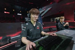LCK Week Seven: T1 Bench Faker for 17 Year Old Clozer
