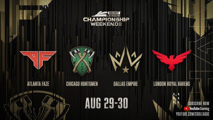 CDL Championship weekend Atlanta Chicago Dallas London