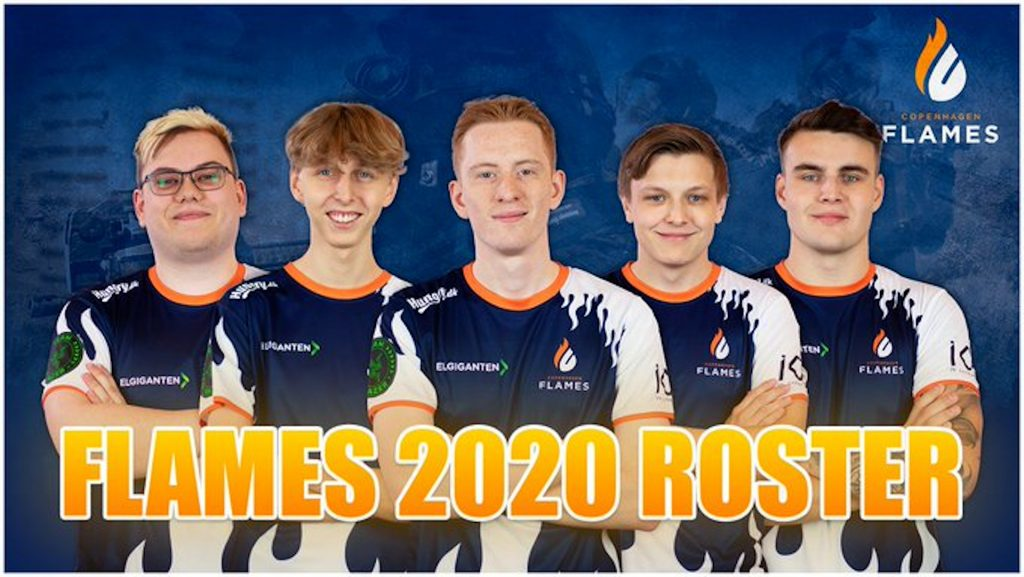 Copenhagen Flames have announced their roster heading out of the player break (Image via Copenhagen Flames)