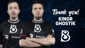 Ghostik and KingR Leave B8; Dendi as Sole Original Member
