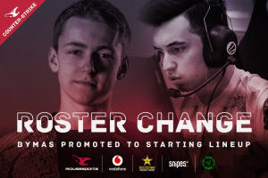 Mousesports Bench Woxic and Promote Bymas to Starter