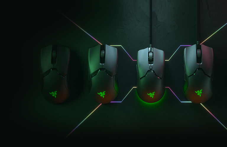 The Razer family of mice (Image via Razer)
