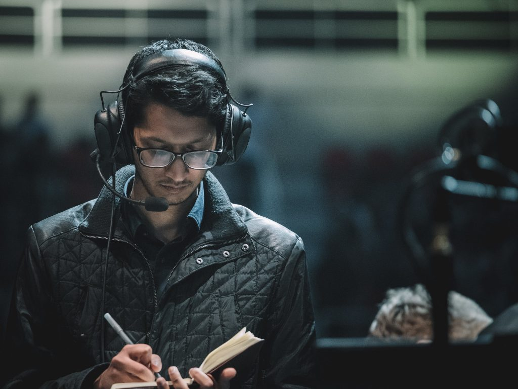 After spending time away from the stage as TSM's GM, Parth helped lead the org to its first World Championship since 2017 (Photo via Riot Games)