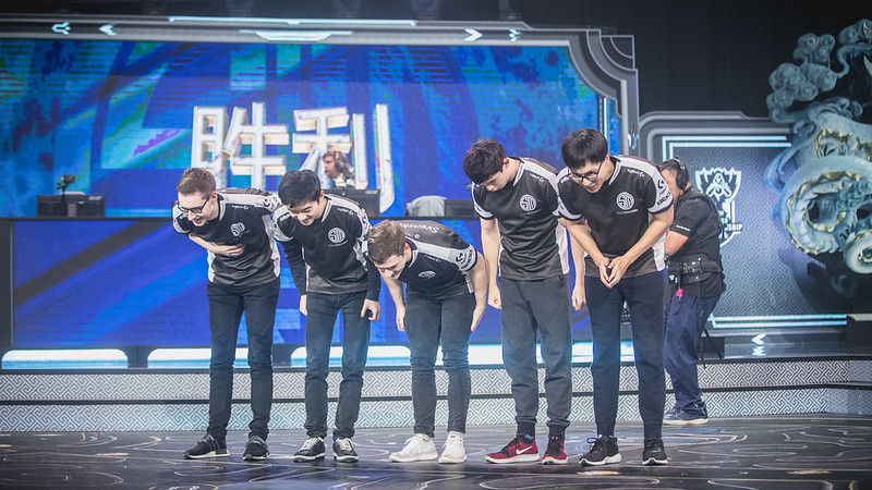 TSM bowed out of their last World Championship appearance early after losing a tiebreaker match against Misfits (Photo via Riot Games)