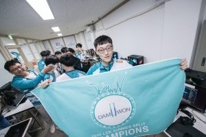 DAMWON Gaming dominated the LCK Finals to win their first ever championship. (Photo courtesy Riot Games - Korea)