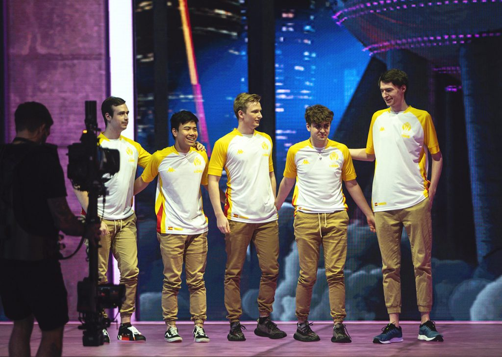 Despite going 1-1 on the first day of Play-ins, Kaiser is confident that MAD Lions will improve as the tournament goes on (Photo via David Lee | Riot Games)