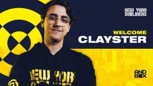 Clayster will join Zooma and Mack on the New York Subliners roster (Image via New York Subliners)