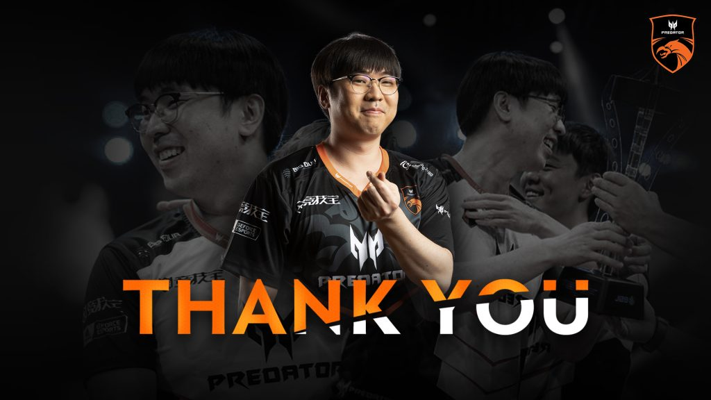 """On a length post on Twitter, March said """"There is an end to everything, I had a great run and met amazing teammates and people"""" (Image via TNC Predator)"""