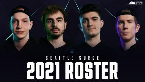 Seattle Surge Reveal Call of Duty lineup