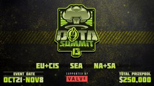 BTS Announces DOTA Summit 13, A Valve Supported Dota 2 Tournament