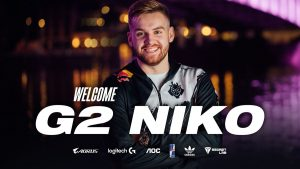 G2 Esports Sign NiKo from FaZe Clan