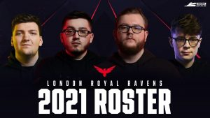 London Royal Ravens Announce 2021 Call of Duty Roster