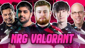 NRG Kicks Off VALORANT Team by Signing Daps and Chet