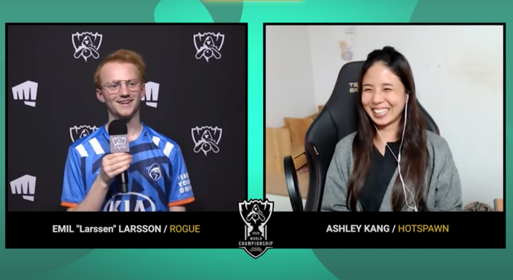 """Larssen gives Rogue a """"40% chance"""" of getting out of the Group Stage."""