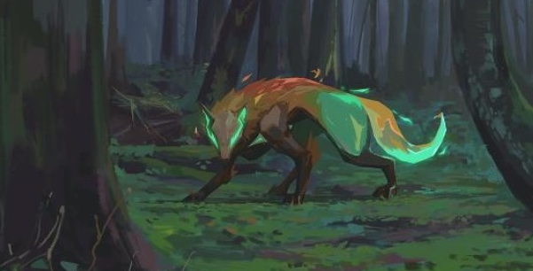 Skye's Trailblazer ability grants control of a Tasmanian Tiger (Image via Riot Games)