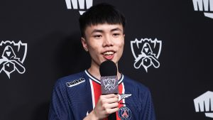While no longer in contention for the title, Kaiwing cherishes his time at the World Championship (Photo via Riot Games)