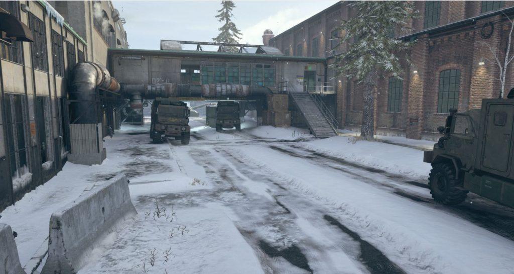 The Main Street of Mialstor Tank Factory.