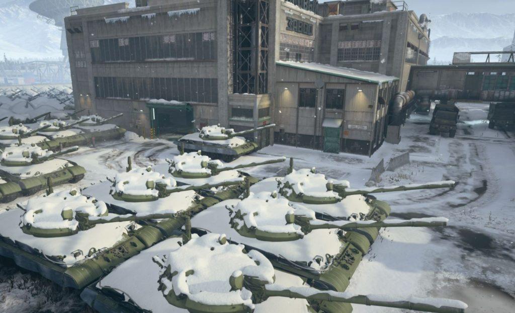 Mialstor Tank Factory's Tank Graveyard