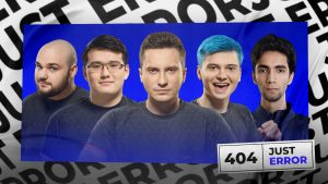 Just Error reunites some of Virtus.pro's most storied players, and adds SumaiL, one of NA greatest stars (Image via No Error)