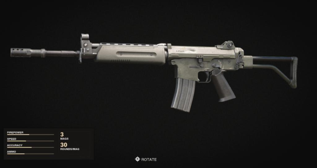 Krig-6 Weapons Black Ops Cold War