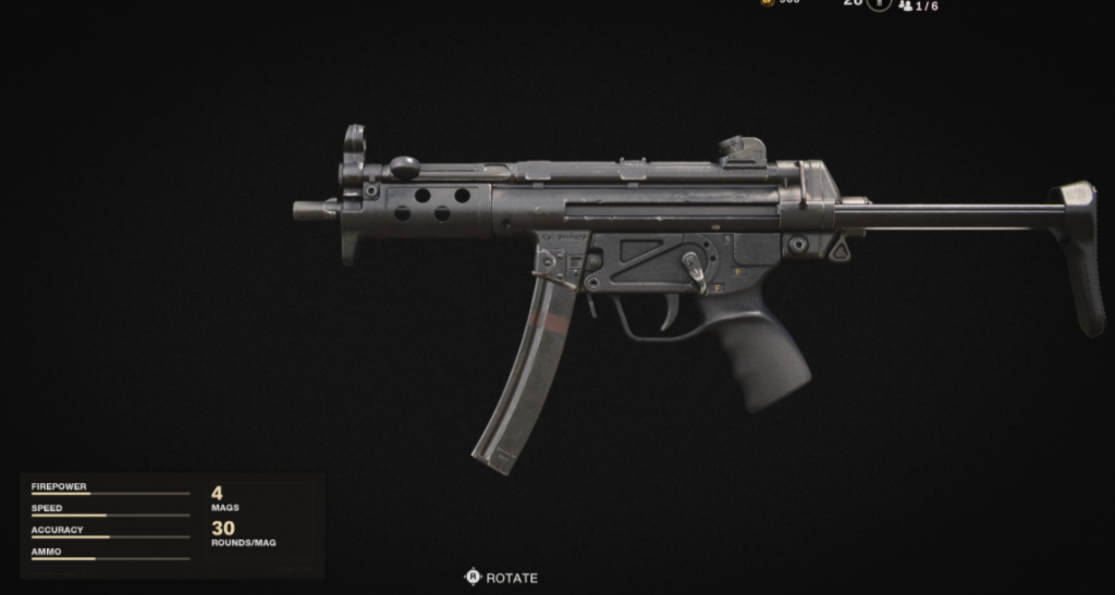 MP5 Weapons Black Ops Cold War