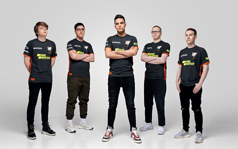 After months of besting the primary roster of the organization, VP.Prodigy were finally made the starting lineup for the org (Photo via Virtus.pro)