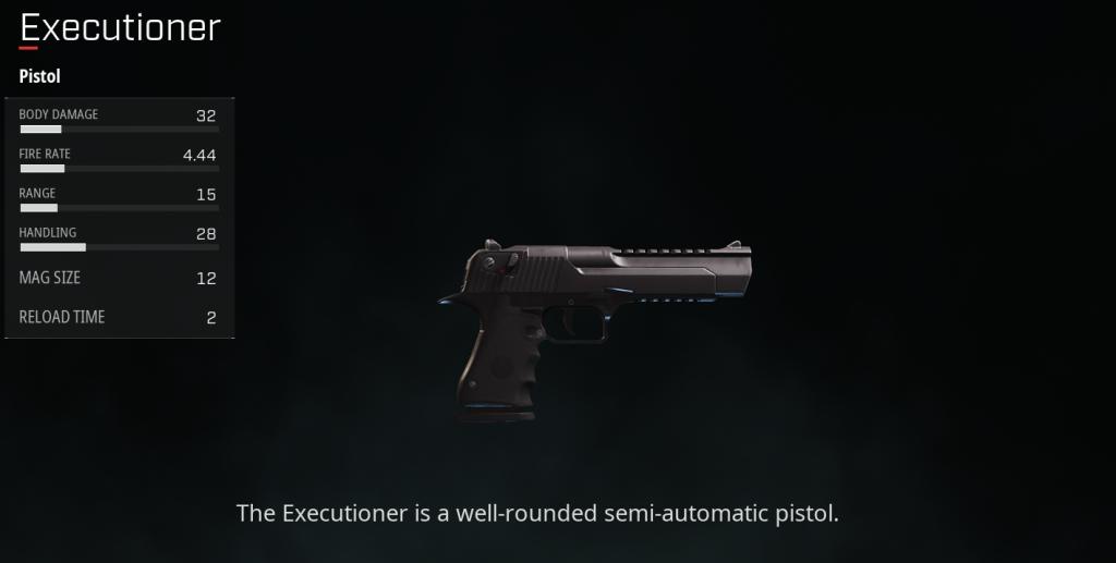rogue company Executioner