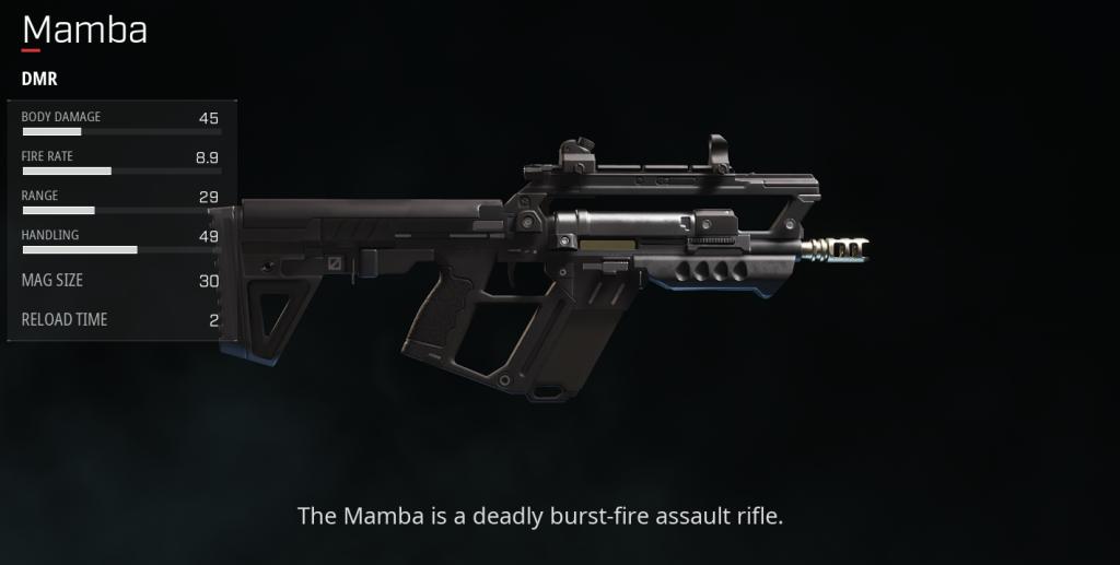rogue company Mamba