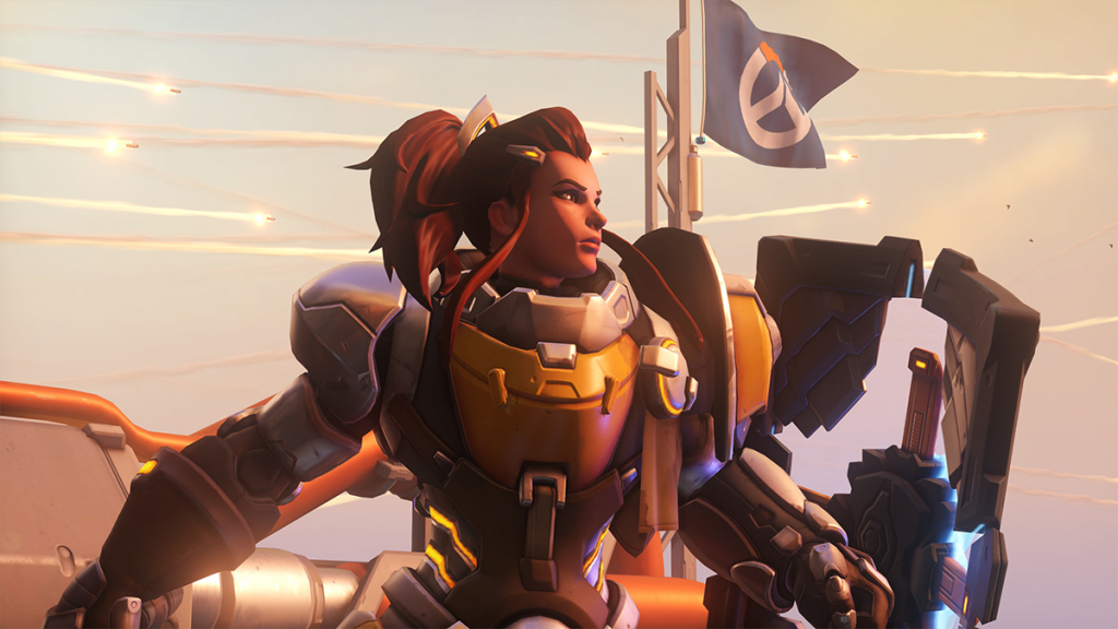 After plenty of complaints from players, Brigitte found herself nerfed (Image via Blizzard Entertainment)