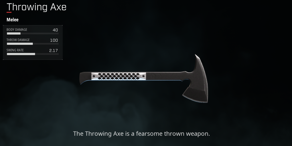 Dallas Throwing Axe
