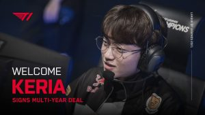 T1 Signs Keria to Multi-Year Deal