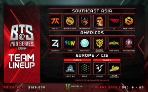 Beyond the Summit Warms Up Winter Dota with Pro Series 4