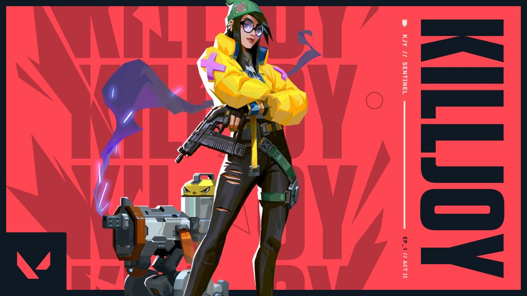 It is unclear how the removal of Killjoy could impact the VALORANT First Strike Tournaments (Image via Riot Games)