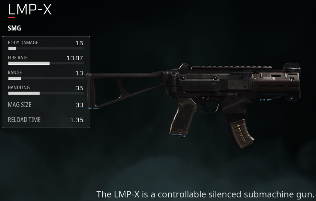 Gl1tch's LMP-x is one of his main weapons