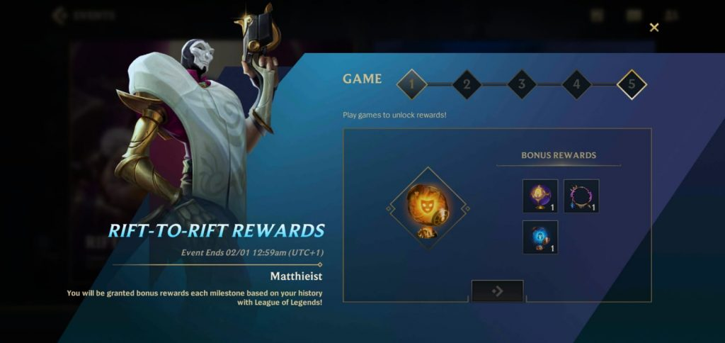 Rift Rewards