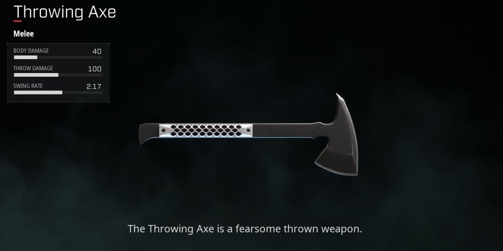 Dima Throwing Axe