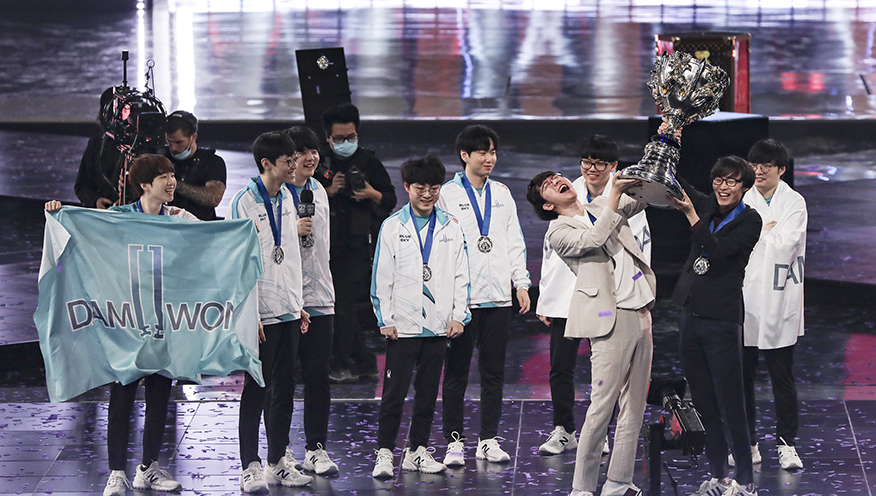 Damwon Gaming Worlds 2020 Summoners Cup