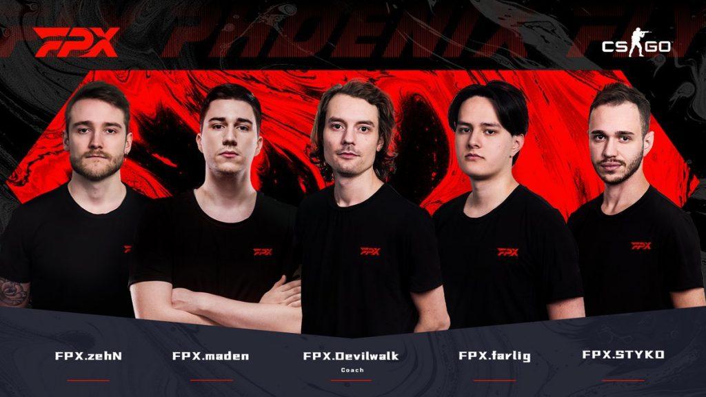 FunPlus Phoenix Sign Ex-GODSENT CS:GO Core