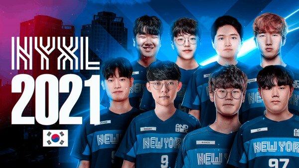 NYXL 2021 lineup team