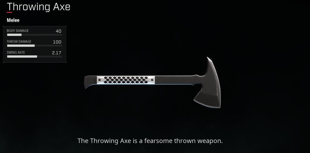 Throwing Axe