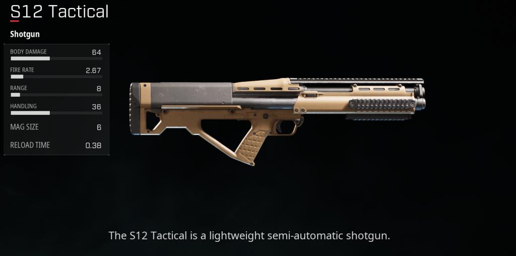 S12 Tactical Shotgun Sigrid
