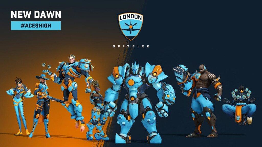 london spitfire skins