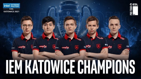 Gambit win IEM Katowice