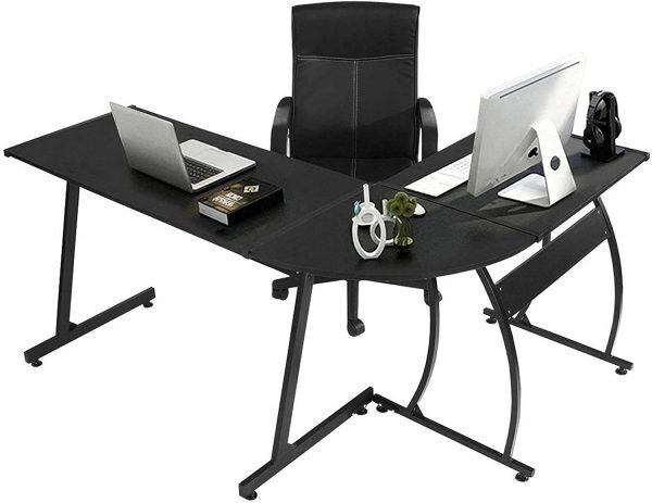 GreenForest Corner Computer Gaming Desk