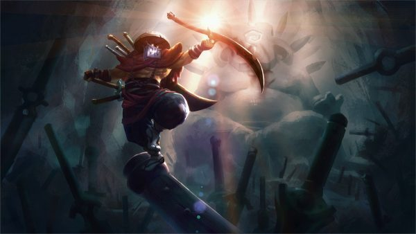 Juggernaut Dota 2 carry in-game art